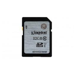 32GB karta SDHC Kingston UHS-I class 10 čtení 45MB/s