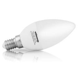WHITENERGY LED žárovka, E14, 10 SMD 2835, 5W, 230V, teplá bílá, C30
