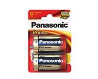 PANASONIC Alkalická baterie D Panasonic Pro Power LR20 2ks 09834