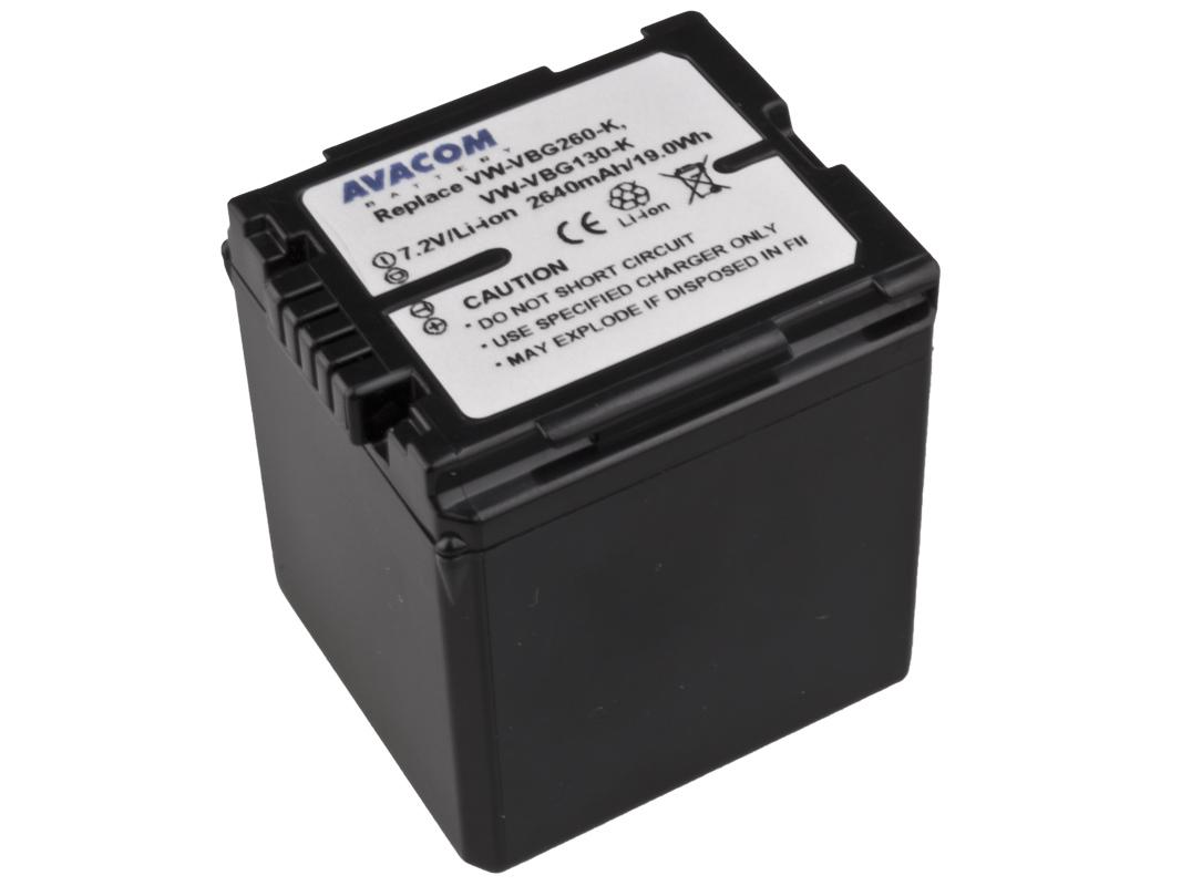 AVACOM Baterie AVACOM Panasonic VW-VBG260 Li-ion 7.2V 264 VIPA-G260-338