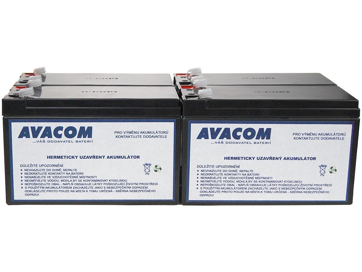 AVACOM Bateriový kit AVACOM AVA-RBC23-KIT náhrada pro renovaci RBC23 (4ks baterií) AVA-RBC23-KIT