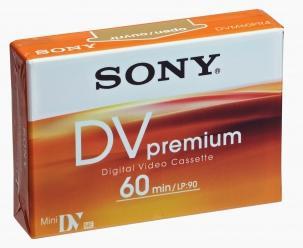 SONY Sony videokazeta Mini Dv, DVM60PR 1 ks DVM60PR
