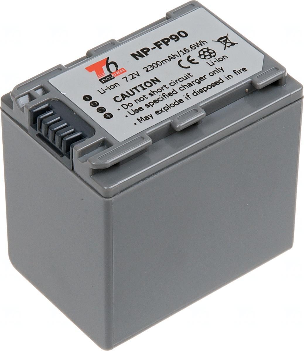 T6 POWER Baterie T6 power Sony NP-FP90, 2300mAh, šedá VCSO0040
