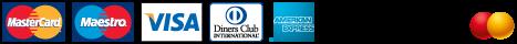 Logo: Akceptovány typy platebních karet